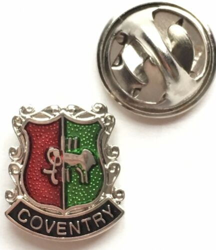 Coventry Small Enamel Lapel Pin Badge T088