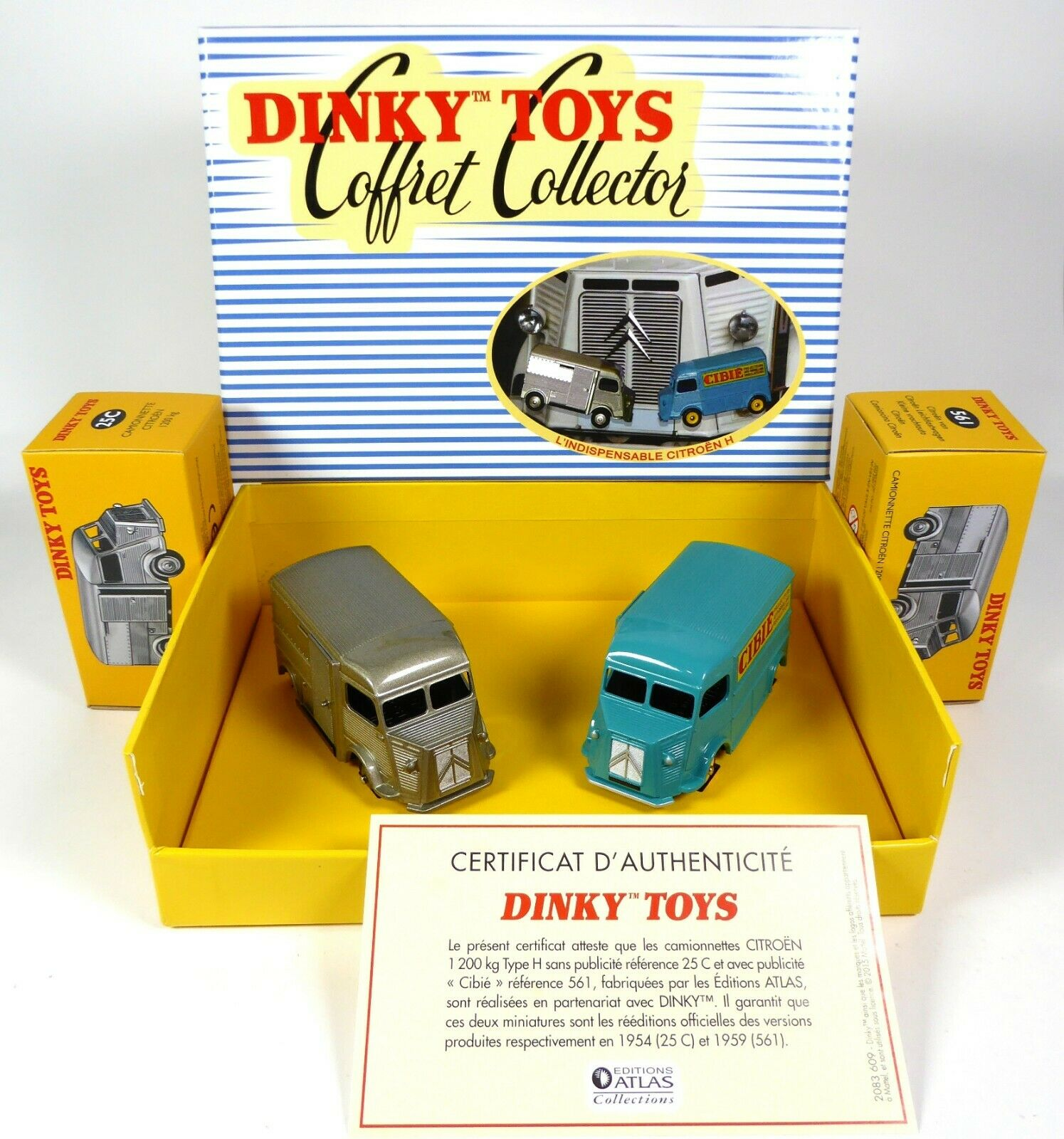 Collector Box Citroën Type Type Type H - DINKY TOYS ATLAS MODELLAUTO CAR DIECAST 25C 561 d422d7