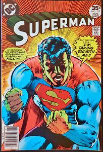 Superman-317-VF-7-5-Neal-Adams-Cover-Key-Kryptonite-Justice-League-DC-Comics
