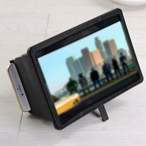 Mobile-Phone-Screen-Magnifier-Box-Phone-Stand-Bracket-For-2-5-034-6-0-034-Phone-New