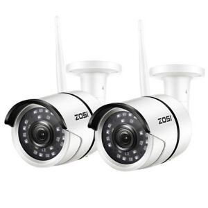ZOSI-2-PCS-Outdoor-Wireless-IP-Camera-HD-1080p-Onvif-Security-WIFI-Camera-System