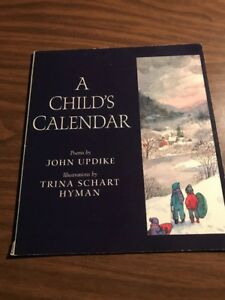 A-Childs-Calender-Poems-By-John-Updike-paperback-Book
