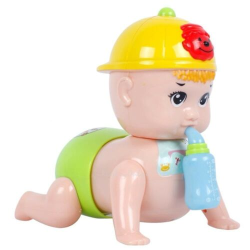 New Baby Toys Crawling Baby Call Mom And Dad,Laughs,Music,Lights,Giggle