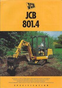 Equipment-Brochure-JCB-801-4-Mini-Excavator-c1994-E4899
