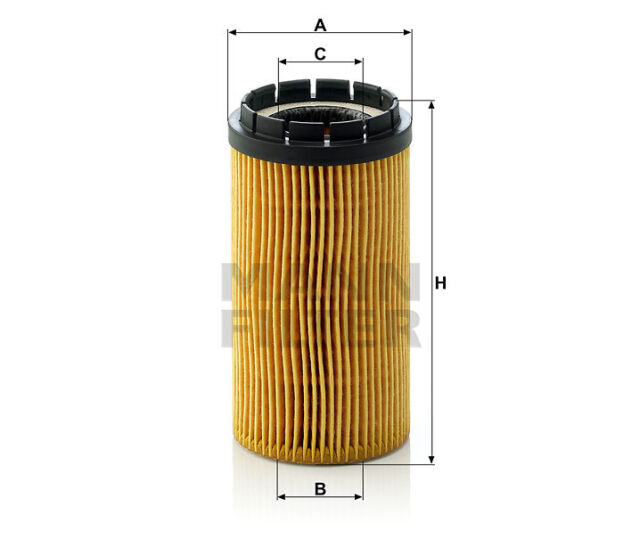 MANN-FILTER Ölfilterelement HU 718 x