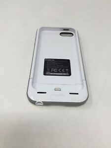 big sale e6f8c c57fe Details about Mophie Juice Pack Plus for iPhone 5/5s White 2111_JPP-IP5-WHT  For Parts *Read*