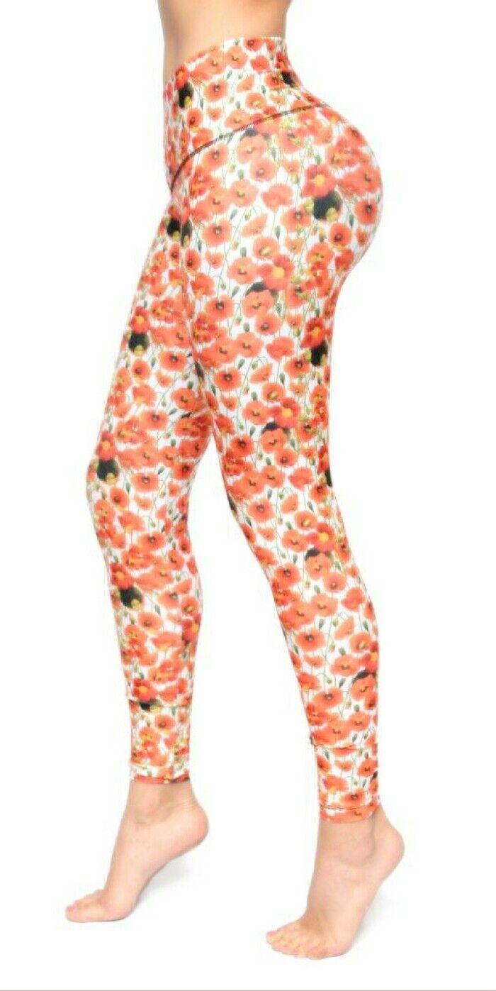 Bon Bon Up Women's Leggings with Internal Body Shaper ButtLifter Levantacola1147