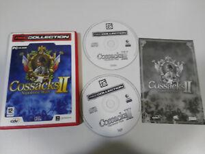 Cossacks II Napoleonischen Wars Set para PC 2 X Cd-Rom Spanisch Game World - Am