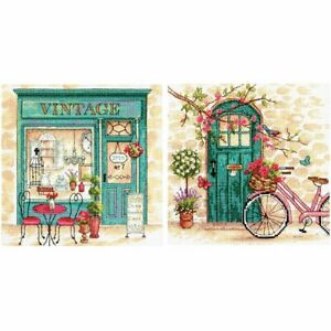 Dimensions-Crafts-Afternoon-in-Provence-Counted-Cross-Stitch-Kit-Set