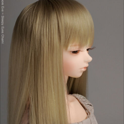 Dollmore 1/3 BJD SD  Wig (8-9) PNY Bangs Straight Wig (C.Brown)