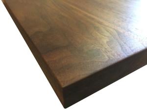 Piano tavolo in legno massello di Noce Canaletto | eBay