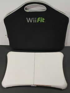 Nintendo Wii Fit Plus Balance Board Exercise Controller Board and Bag RVL-021