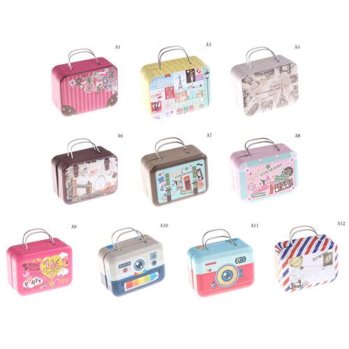 Trunk Toy Miniature 1:6 Dollhouse Accessories Dollhouse Miniature Suitcase G ES