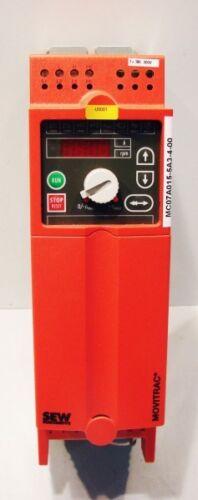 used SEW EURODRIVE Movitrac MC07A015-5A3-4-00 8272506 Frequenzumrichter 1,5 kW