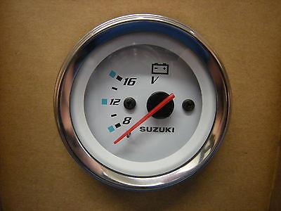 """Suzuki Outboard Parts 2"""" Voltmeter  Gauge 34600-93J11"""
