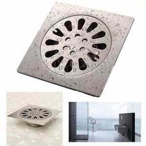 Stainless Steel Drain Hair Catcher Bath Stopper Strainer Filter Shower Cover