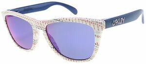 Oakley Frogskins Sunglasses OO9013-85 White Team USA   + Red Iridium Lens   BNIB