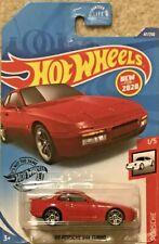 Hot Wheels 47//250 2020 Porsche 1//5 Red /'89 Porsche 944 Turbo