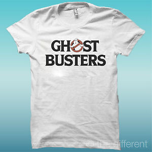 T-Shirt-034-Ghost-Busters-034-Colour-White-the-Happiness-Is-Have-My-T-Shirt-New
