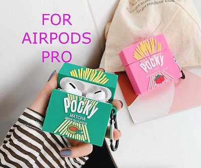 Pocky Gilco Apple Airpod Pro Earpod Case Kawaii Cute 3d Design