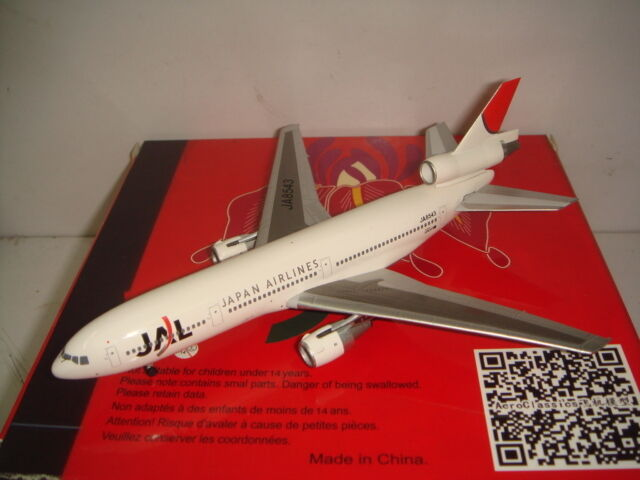Aeroclassics 400 Japan Airlines JAL DC-10-40  2003 S couleur  1 400