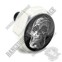 Polished Billet Hex Air Cleaner Cover Bolt - Twin Cam Touring Phat Chrome Skull