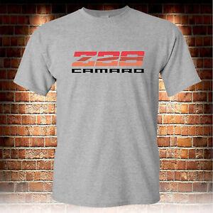 8fb1627b Chevrolet Chevy Z 28 Camaro Z28 Grey T-shirts Men's Size S to 3XL | eBay