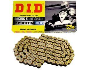 DID DHA 219 Pitch HTM G&B Kette 104 Glieder UK Kart Store