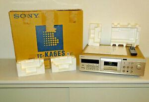 Sony TC-KA6ES High-End Tape Deck Champagner, OVP&NEU, 2 Jahre Garantie