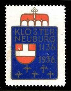 HonnêTeté L'autriche Poster Stamp - 1936-klosterneuburg - 800th Anniversaire-afficher Le Titre D'origine Nous Prenons Les Clients Comme Nos Dieux