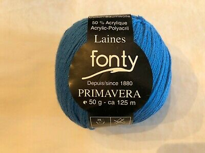 Fonty Yarns Color choices Primavera 2005 Cotton//Acrylic blend