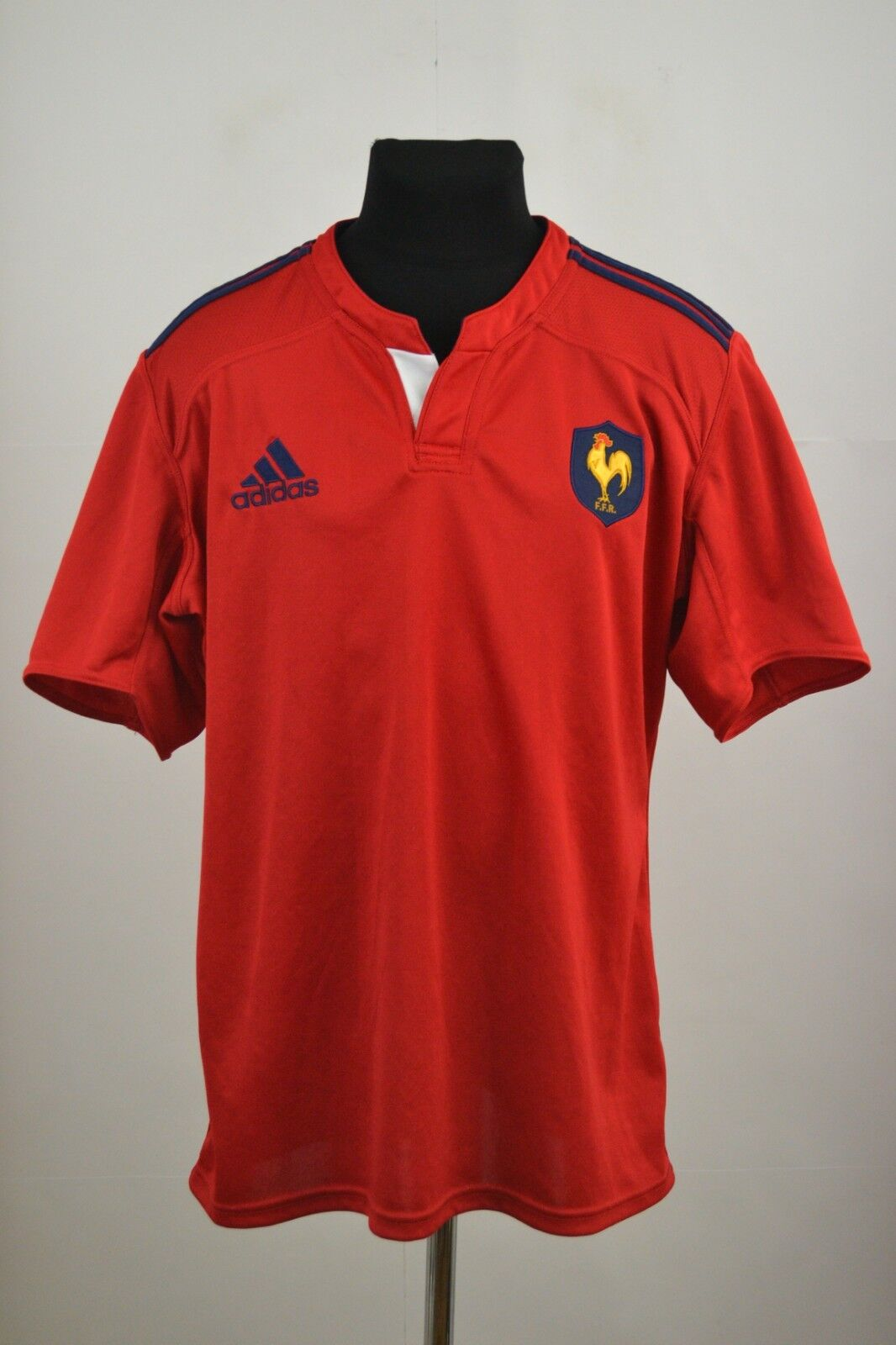 France Rugby 2014 away Shirt Jersey (2XL) Adidas Player Issue