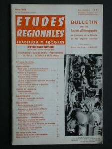 Bulletin SELM 1966 Mardi gras à St Sornin la Marche - Préhistoire Vigen - Remède