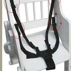 5 Point Harness Stroller High Chair Pram Buggy Car Seat Belt Strap