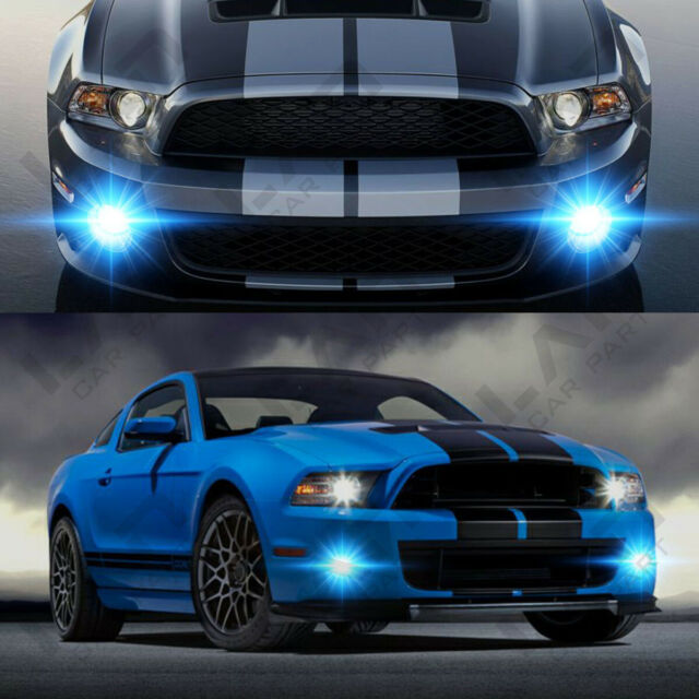 For 2007-2014 Ford Mustang Shelby GT500 - 2X LED Fog ...