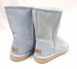 2e96192f91c Details about UGG Australia CLASSIC SHORT II 2 1016223 Sky Blue Women's  Boots Sheepskin sz 7