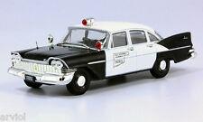 PLYMOUTH SAVOY USA Police  -- 1/43 -- De Agostini - IXO -- NEW