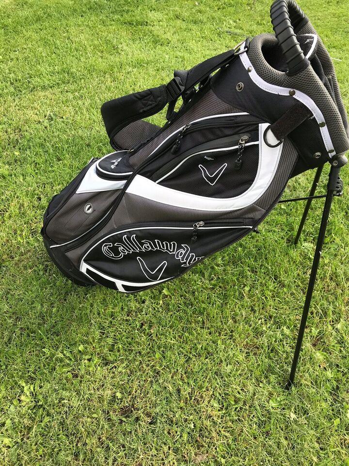Herre golfsæt, stål, Cleveland/Taylormade/Odyssey
