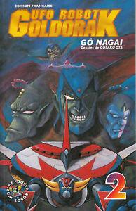 Ufo robot goldorak - tome 2 de Go Nagai et Gosaku Ota