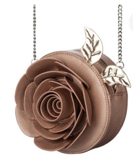 Beauty and the Beast Enchanted Rose Crossbody Bag Danielle Nicole Disney purse