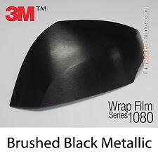 20x30cm FILM Brushed Black Metallic 3M 1080 BR212 Vinyle COVERING Wrap Film
