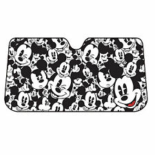 Disney Mickey Mouse Accordion Windshield Sun Shade UV Protector 58'' x 27''
