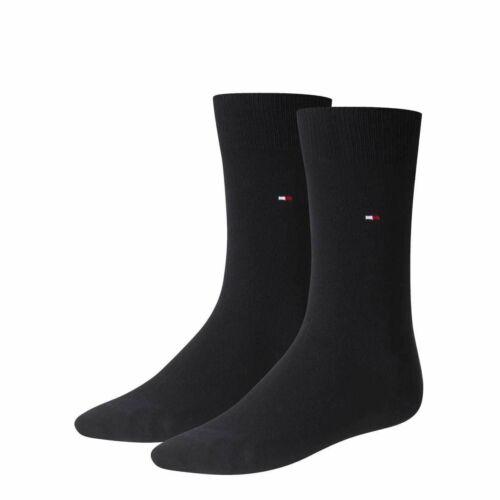 2 Paar TOMMY HILFIGER Herren Classic Socken Gr 39-49 Business Socken
