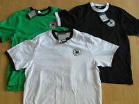 DFB Retro WM 1974 Deutschland Trikot Shirt Gr S M L XL XXL XXXL weiß grün schwar