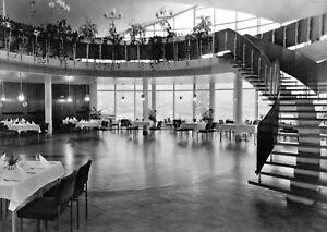 """AK, Rostock Südstadt, """"Kosmos""""-Gaststätte, Gastraum, 1971"""