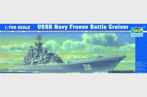 05708 Trumpeter 1 700 Model Navy Frunze Battle Crusier Missile Warship Static