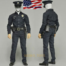"1/6 LAPD Police T1000 Terminator Uniform Set For 12"" Phicen Hot Toys Figure USA"