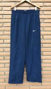 864bf4673 Mens XL Nike Navy Blue Athletic sport track Pants Mesh Lined ...