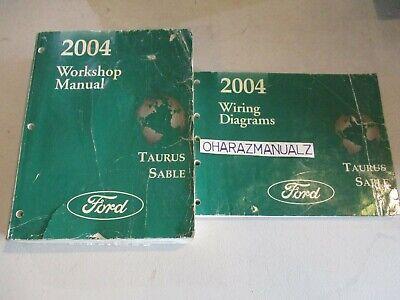 2004 FORD Taurus Mercury Sable Wiring Diagrams & Service ...