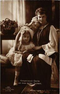 CPA-AK-Kronprinzessin-Cecilie-mit-ihren-beiden-Toechtern-GERMAN-ROYALTY-867433